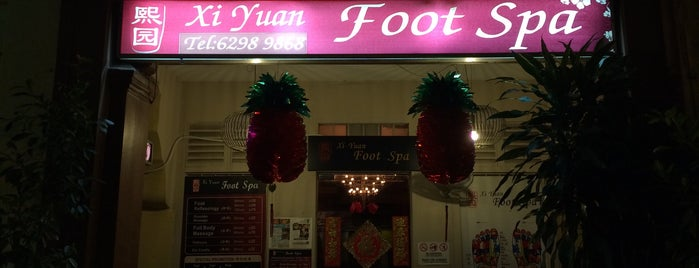 Xi Yuan Foot Spa is one of Massage in Sg.