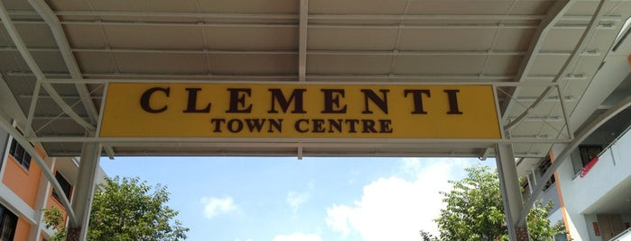 """Clementi Town Centre is one of TPD """"The Perfect Day"""" Singapore (1x0)."""