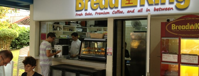 Bread King is one of Singapore Bakeries.