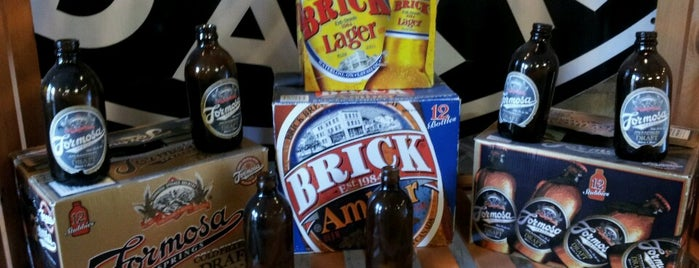 Brick Brewing Company is one of Favorite Nightlife Spots.