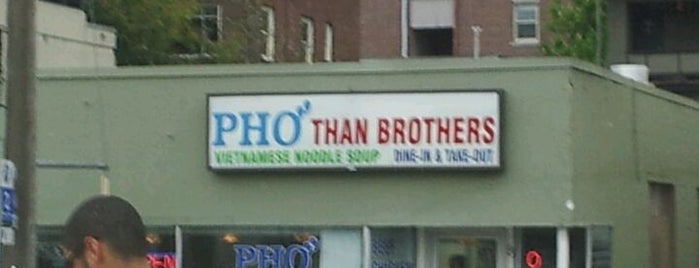 Pho Than Brothers is one of Locais curtidos por Kari.