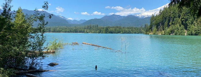 Baker Lake Trailhead is one of PNW Road Trip.
