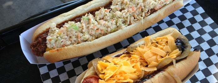 Fab Hot Dogs is one of To Eat: Westwood, Los Angeles, CA.