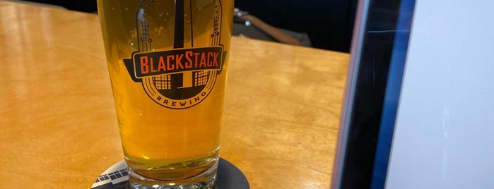 BlackStack Brewing is one of Lieux qui ont plu à Dan.