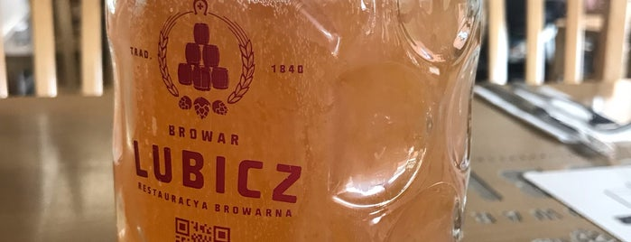 Browar Lubicz is one of Lieux qui ont plu à Illia.
