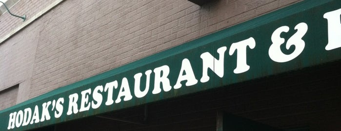 Hodak's Restaurant and Bar is one of U.S. & A.