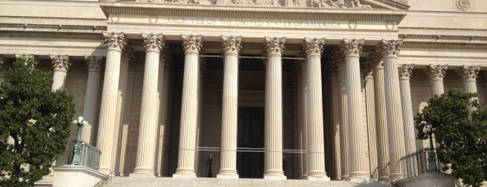 National Archives and Records Administration is one of Washington DC.