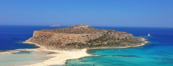 Balos Beach is one of Crète to do.