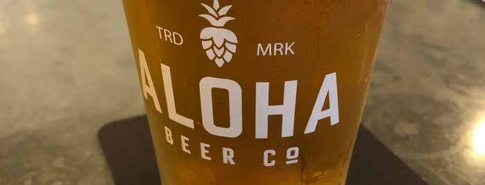 Aloha Beer Company is one of Breweries 🍺.