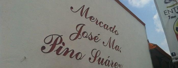 Mercado Pino Suárez is one of Tempat yang Disukai Joaquin.