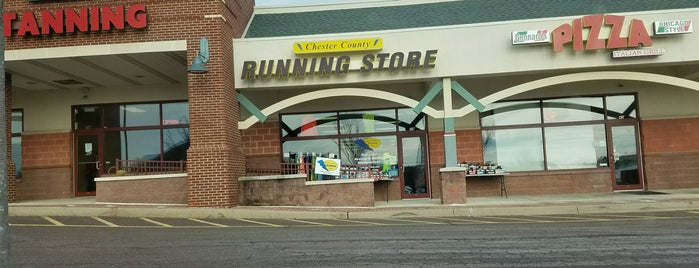 Chester County Running Store is one of Phila Lemon Run.