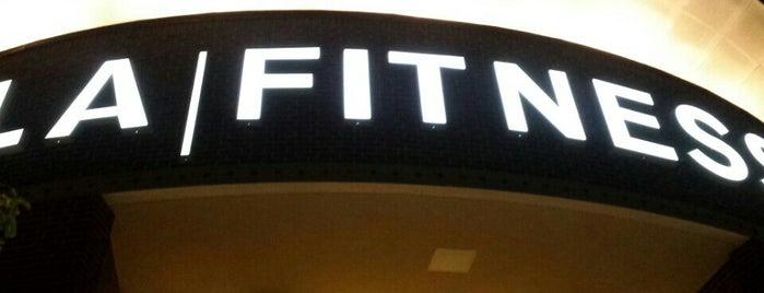 LA Fitness is one of Guy : понравившиеся места.