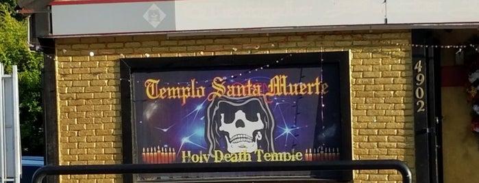 Templo Santa Muerte is one of LA.