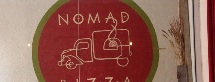 Nomad Pizza is one of Lugares guardados de Melissa.