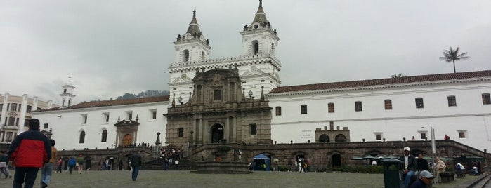 Iglesia de San francisco is one of Things To Do In Ecuador.