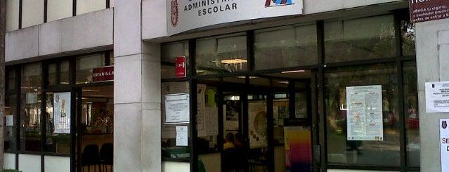 Dirección de Administración Escolar IPN is one of Orte, die Miguel gefallen.