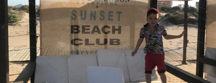 Sunset Beach Club is one of Espana.