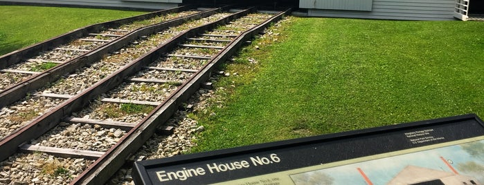 Allegheny Portage Railroad National Historic site is one of National Recreation Areas.