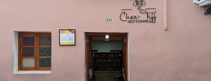 Chez Tiff Artesanal is one of Equador.
