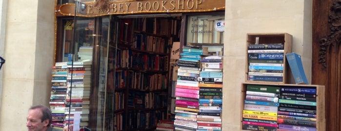 The Abbey Bookshop is one of Paris.