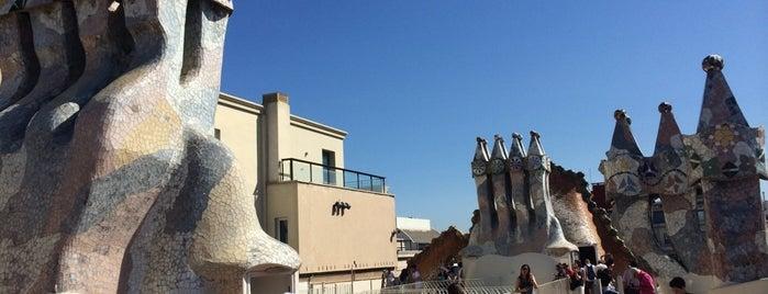 Casa Batlló is one of Ruta a l'Eixample. La ruta del modernisme.