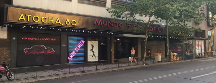 Mundo Fantastico is one of strip clubs 4 XXX.