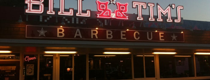 Bill & Tim's Barbecue is one of Places To Try.