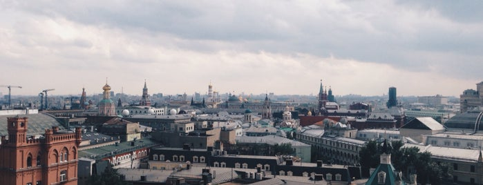 Смотровая площадка ЦДМ is one of Orte, die Анастасия gefallen.