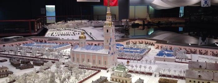 Интерактивный музей-макет «Петровская Акватория» is one of Orte, die Анастасия gefallen.