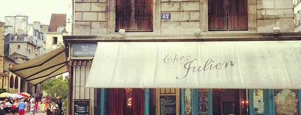 Chez Julien is one of Paris : best spots.