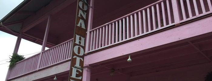 Kona Hotel is one of Nice gems outside.