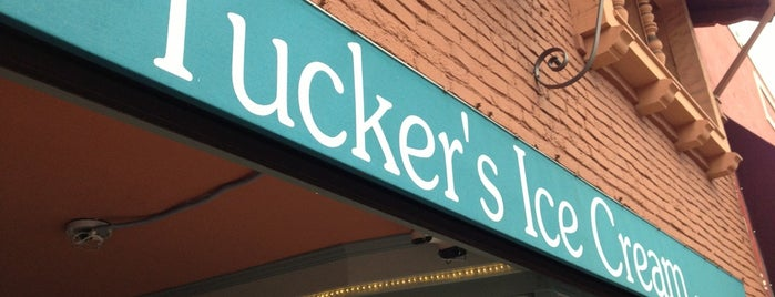 Tucker's Ice Cream is one of Lugares guardados de Nick.