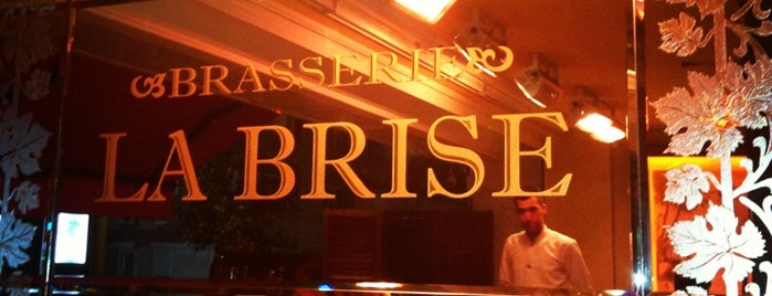 Brasserie La Brise is one of Istanbul.