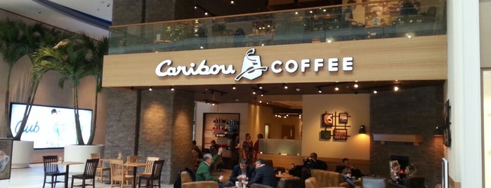 Caribou Coffee is one of Locais curtidos por Noura.
