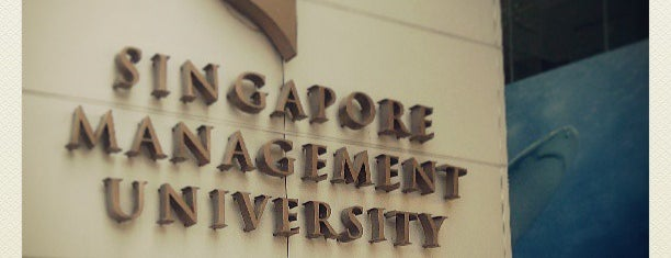 Singapore Management University (SMU) is one of Lieux qui ont plu à MAC.