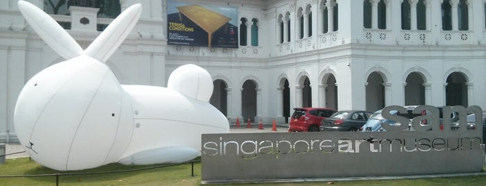 Singapore Art Museum is one of Place to check.