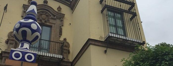 AC Hotel Ciudad de Sevilla is one of สถานที่ที่ Joanne ถูกใจ.