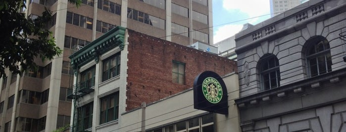 Starbucks is one of Lieux qui ont plu à Gregor.