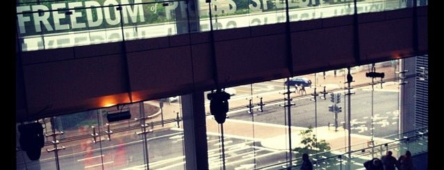 Newseum is one of #UberApproved in DC.