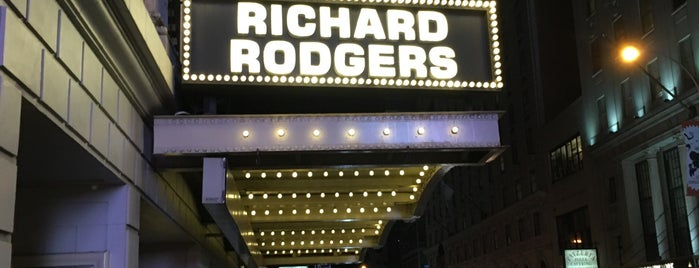 Richard Rodgers Theatre is one of Personal NY.
