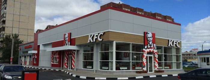 KFC is one of Lugares favoritos de Тимур.