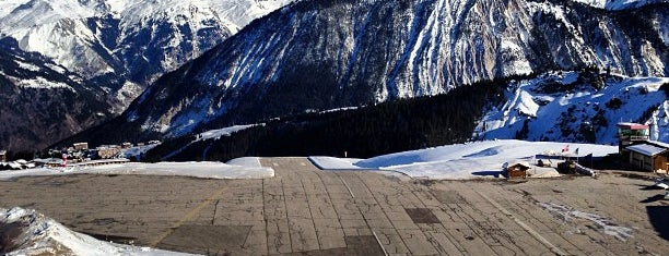 Courchevel Airport (CVF) is one of Locais curtidos por Anastasia.