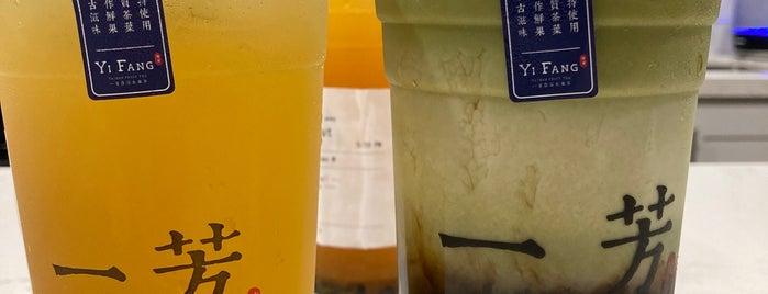 Yifang Taiwan Fruit Tea is one of Orte, die Ailie gefallen.