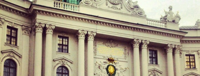 Hofburg is one of TODO Vienna.