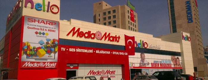 Media Markt is one of gidilen yerlerim.