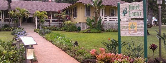Hotel Lanai is one of Hawaii.