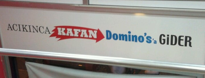 Domino's Pizza is one of Mekanlarım.