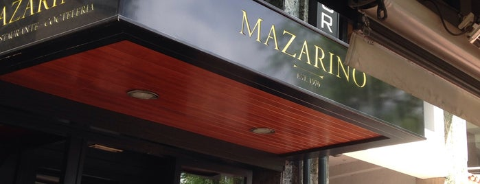 Mazarino is one of Restaurantes con encanto.