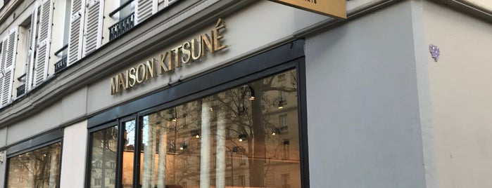 Maison Kitsuné is one of Paris.