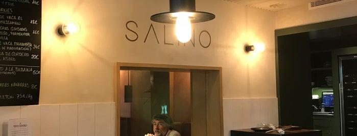 Salino is one of Nuevos 2018.